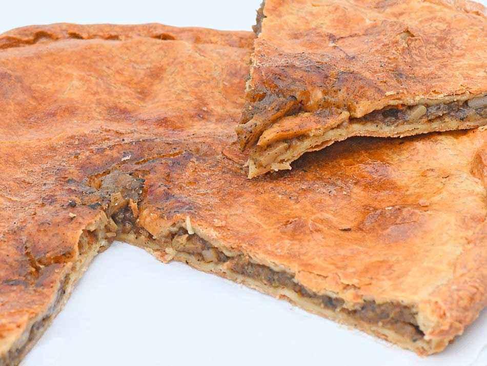Empanada zamburinas
