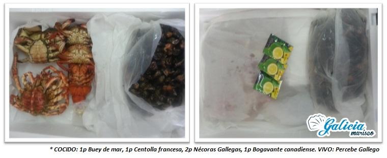 paquetes marisco fresco